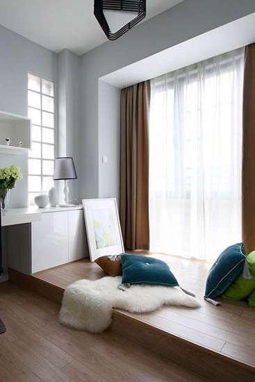 小户型卧室地台设计大全