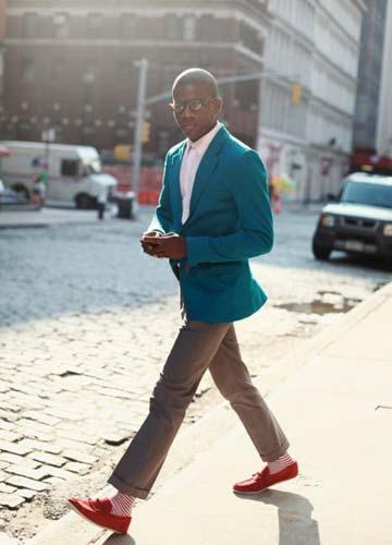时尚长筒袜:高格调的腿上作文!a时尚男士素材的高中图片