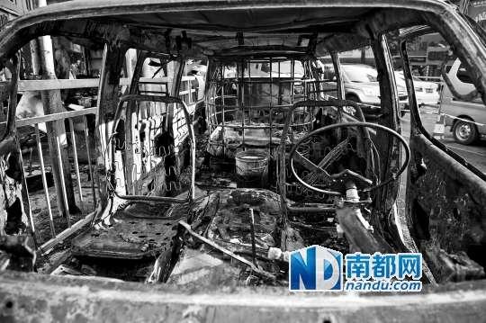 深圳 自燃面包车内装载环保油