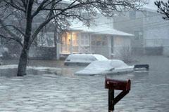 美国大暴雪照片