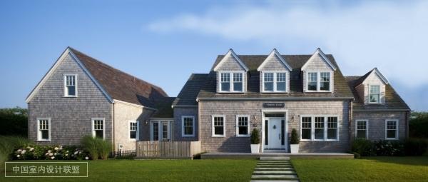 美国私人别墅 纯白色调的宫殿别墅