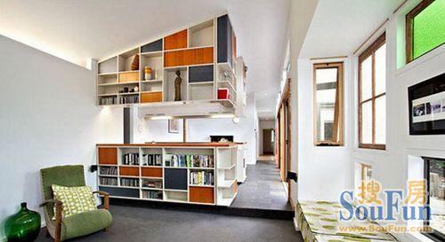 客厅隔断效果图:小空间