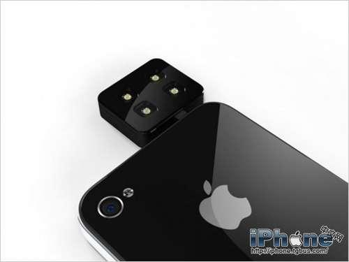 iblazr发布iPhone便携LED闪光灯 独立供电