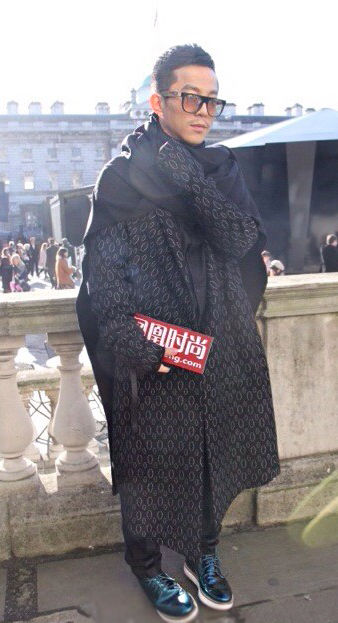 高杨: 携SIMONGAO登陆2014秋冬伦敦时装周