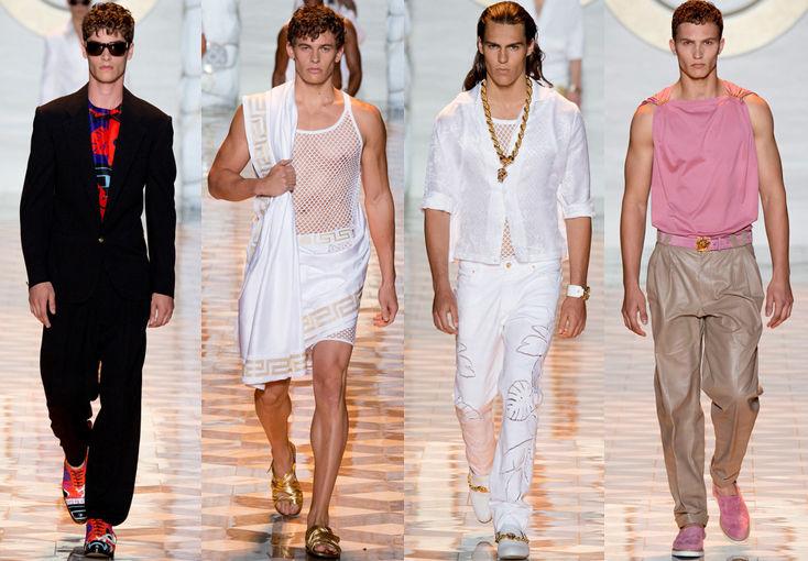 Versace专场秀