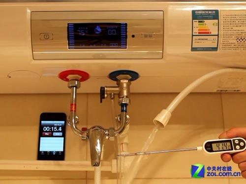 10分钟速热 首评万家乐20L储水式电热水器
