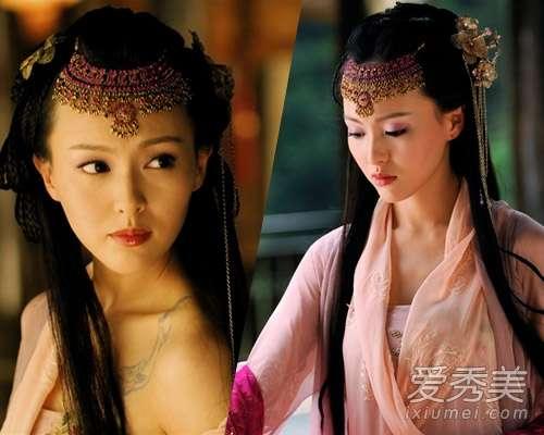 小编印象中,唐嫣古装最美的时候还是《仙剑3》中的紫萱.剧中高图片