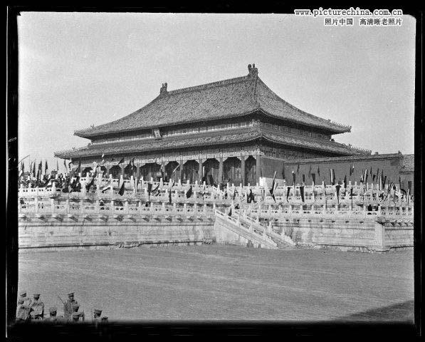 徐世昌/1918年11月28日,太和殿。