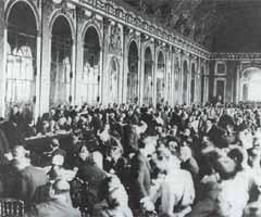 《凡尔赛条约》签字仪式