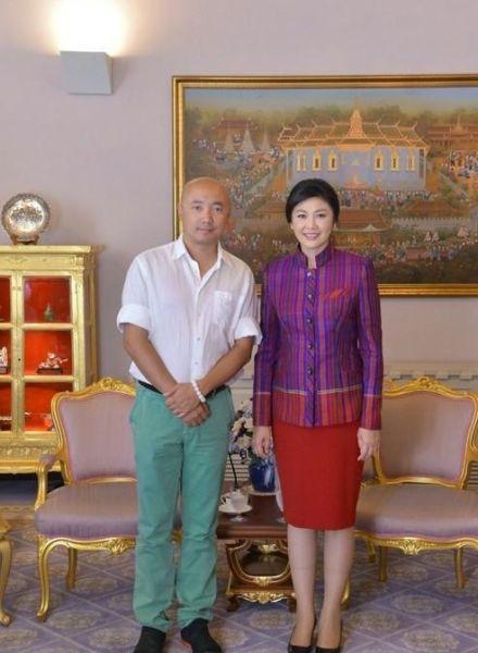 徐峥见泰国总理