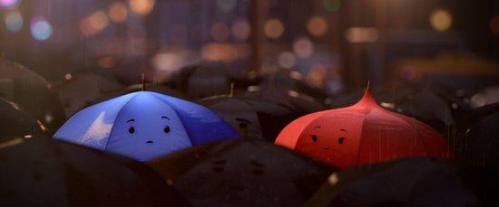皮克斯经典短片助阵上影节 《蓝雨伞》亚太首
