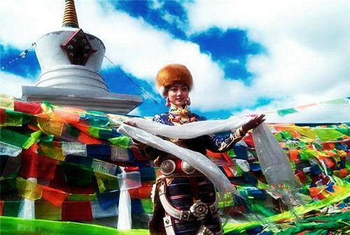 藏族人物透明素材gif