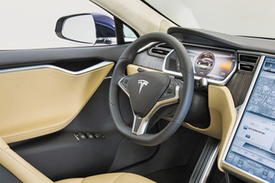 特斯拉无人驾驶汽车未来五到六年问世高清图片