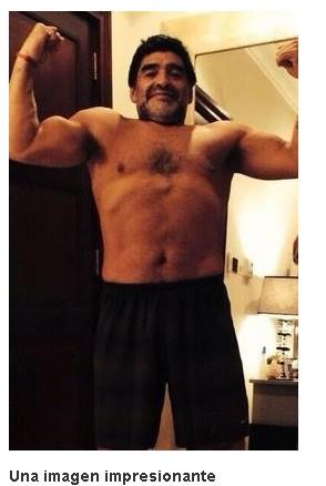 惊艳!53岁老马狂减40斤 自拍展示健硕身材(图)