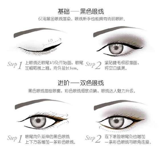画眼线新技能get 新手一样能搞定图片