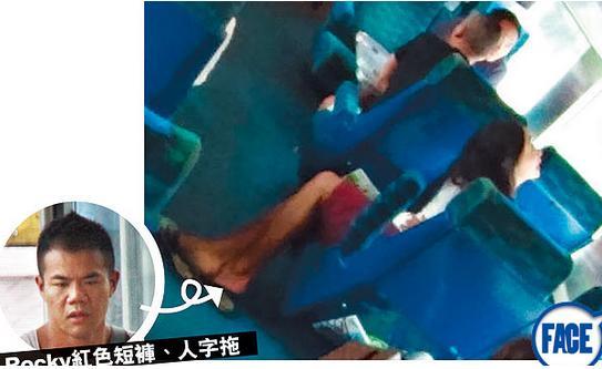 落选港姐与男友火车上演活春宫 女方直呼:别停(组图)