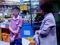 打工女子超市捡剩菜被工作人员割断手筋