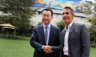 王健林会晤索尼电影制片公司董事长