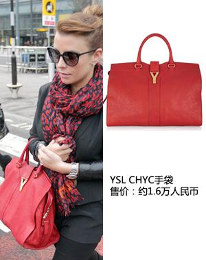 鲁尼太太in YSL CHYC手袋