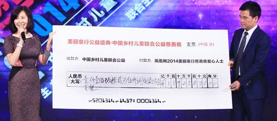 2014美丽童行慈善盛典落幕