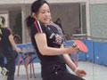 58岁刘晓庆打乒乓球遭调侃