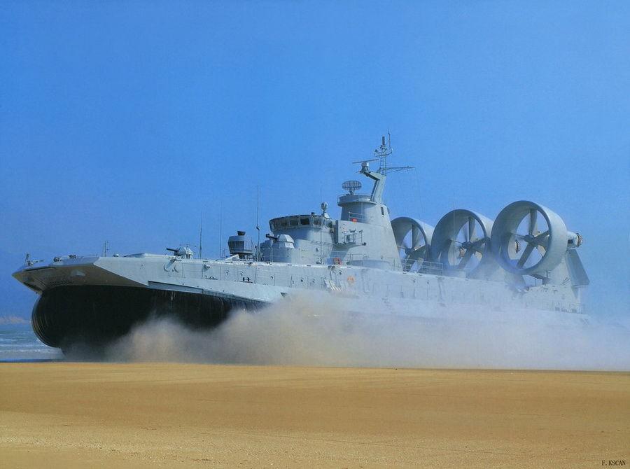 第一艘野牛气垫登陆船正式交付中国海军部队【组图】 - 春华秋实 - 开心快乐每一天--春华秋实
