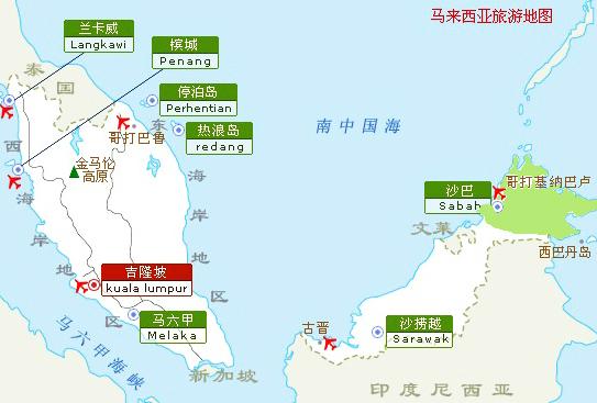 亚庇市区地图