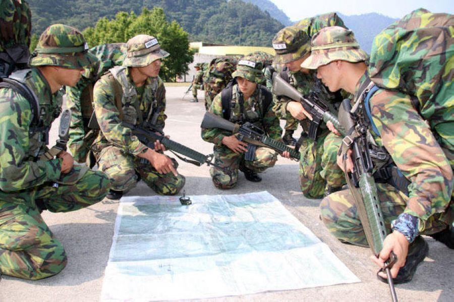 通过照片可以一窥台军特种部队的日常训练科目.(环球网)-台湾特图片