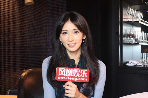 林志玲接受凤凰娱乐专访