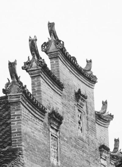 古代屋檐水墨画-民族的智慧 8个中国古典建筑的常用元素