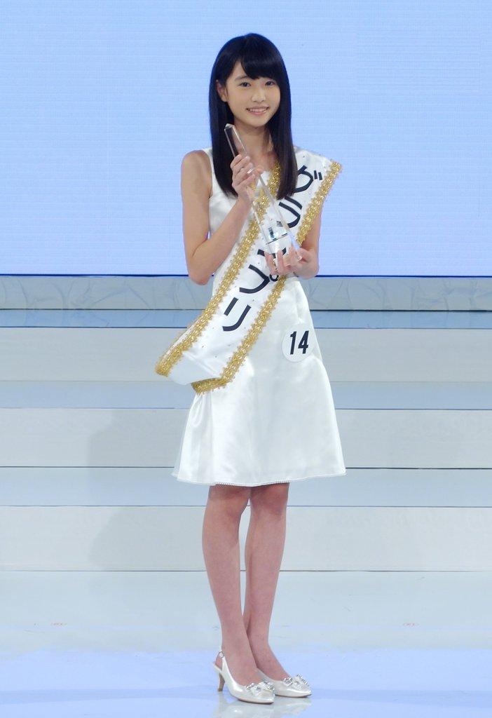 日本国民美少女大赛12岁女生夺冠