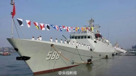 新型导弹护卫舰泉州舰加入战斗序列