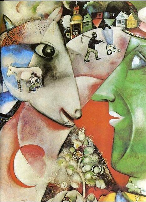mikibana x马克 夏加尔 引领超现实艺术潮图片