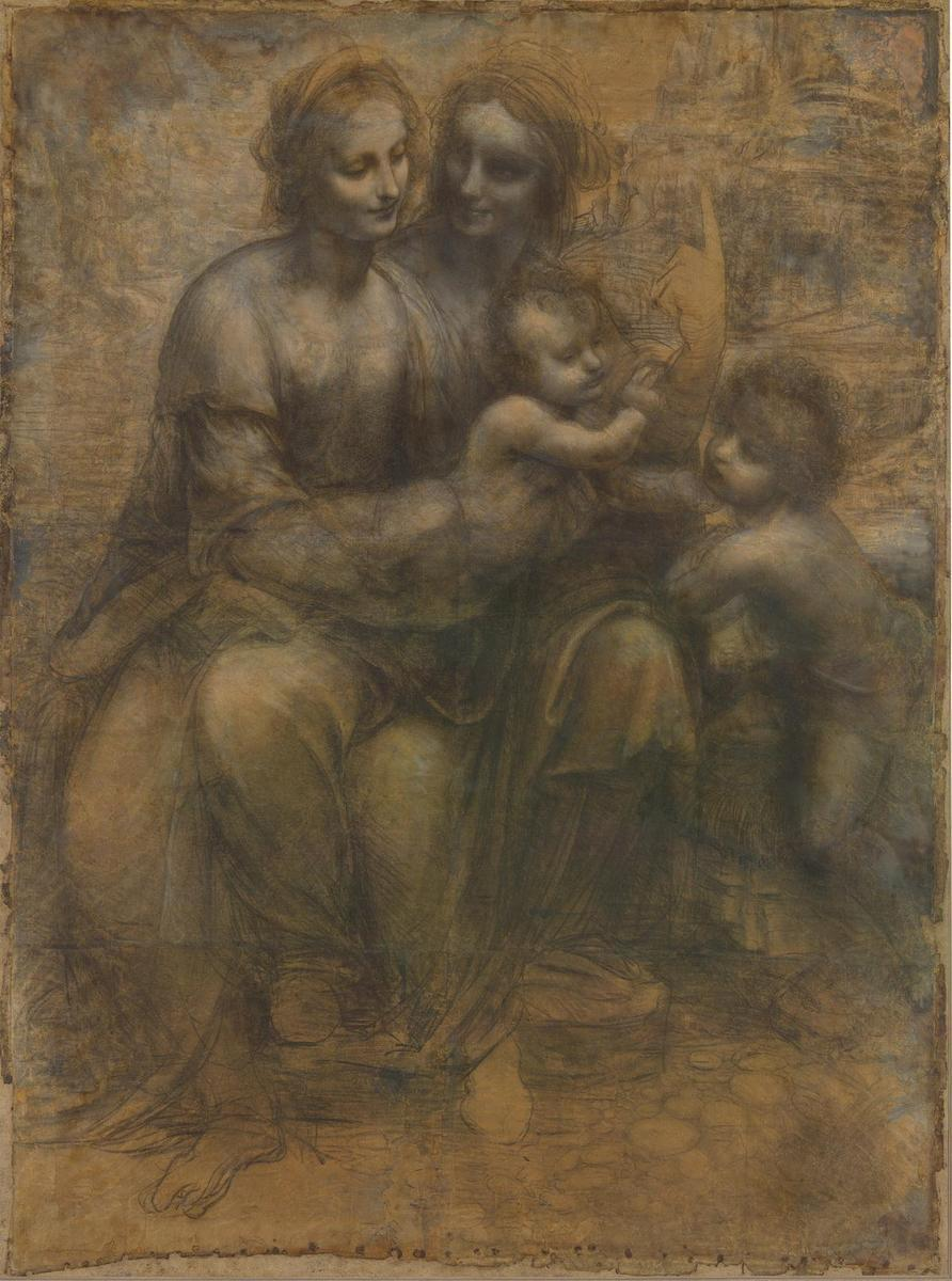 达 芬奇笔下的圣母