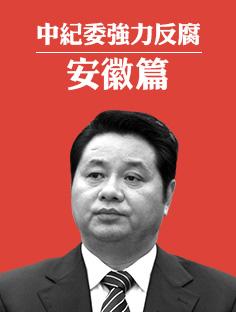 中纪委强力反腐之安徽篇