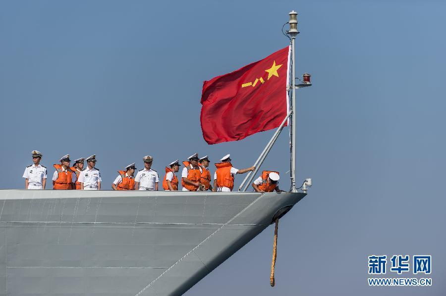 中国海军第十七批护航编队首次抵达约旦访问(1/7) -  东方.旭 - 东方.旭的博客