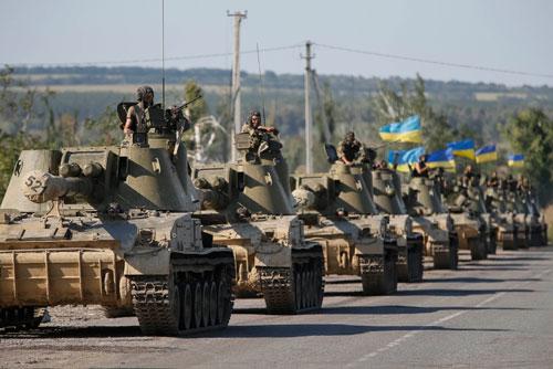 乌克兰陆军已无可战之兵 2/3被歼被围,东部武装也无兵可用