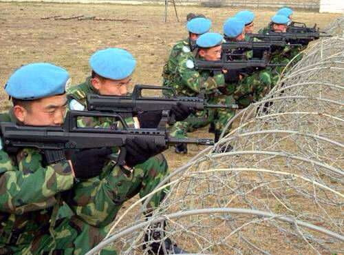中国首次用军队保护海外石油 兵力近一个团
