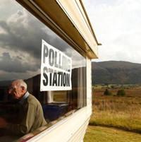 苏格兰公投55%选民反对独立