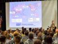 美国海军全球战略部署图曝光: 存一异常点