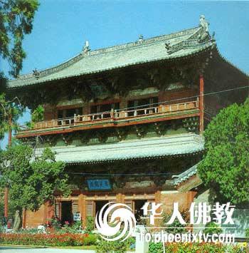 观音阁是我国现存最早的木结构高层楼阁式建筑(图片来源:凤凰网华人
