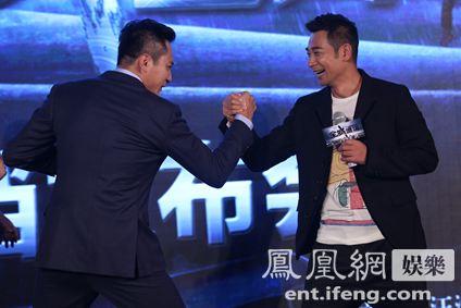 电影《全城通缉》定档 刘烨谈姚晨:替老曹高兴
