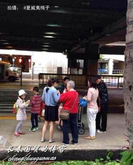 张艺谋妻子晒全家福:三个孩子成有些人眼中钉[高清大图] - 人在上海    - 中国新闻画报