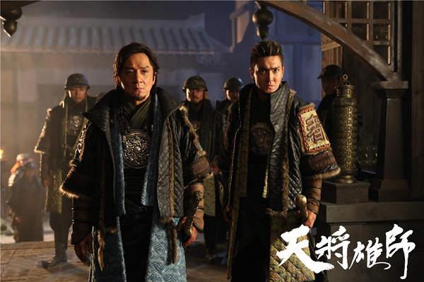 成龙《天将雄师》否认延期 片方:不受房祖名影响