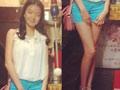 王中磊17岁女儿私房美照曝光 大长腿吸睛