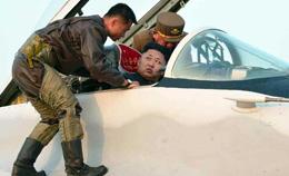 实拍金正恩亲自坐进米格-29座舱