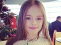俄罗斯9岁超模走红 成熟打扮引争议