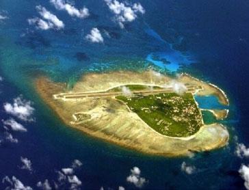 外媒:解放军南海造岛 准备2015年设立空识区