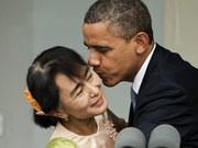 昂山素季政治生涯厚积薄发 明确想当缅甸总统