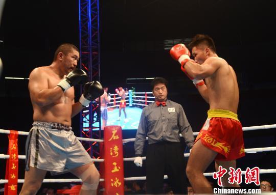 日搏 中日搏击对抗赛佛山打响 中国选手7比0获胜(图)